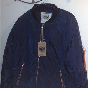 Jackets & Blazers - URBANOLOGY BOOMER JACKET